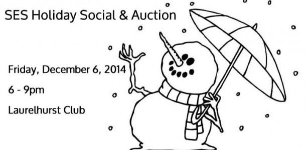 SES Holiday Social and Auction Tickets now on Sale!