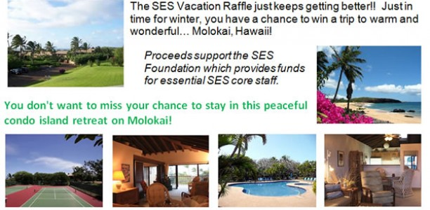 SES Really Big Vacation Raffle #2