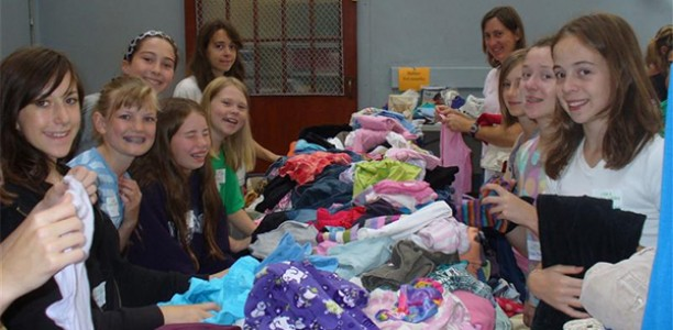 Saturday, August 20: 11th annual Back-to-School Clothing Exchange