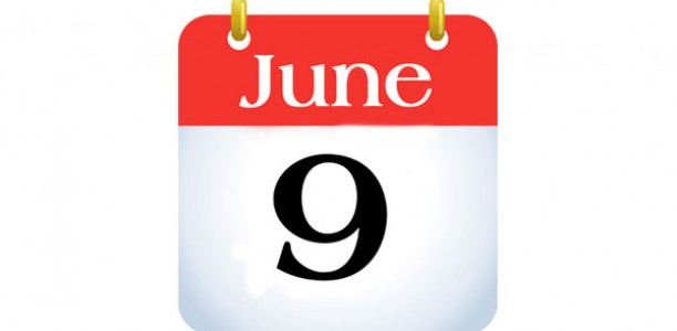 Last day of school: Thursday, June 9