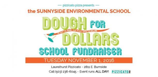 Pizzicato Pizza donation day: Tuesday, November 1