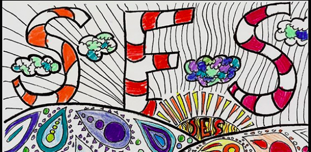 Bright Visions, the SES coloring book